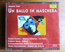 Un ballo in maschera-Verdi-Karajan-Domingo 2cd Stato di Vienna Opera 1989 DDD