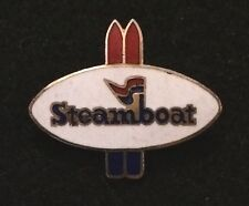 STEAMBOAT Springs Skiing Ski Pin COLORADO CO Resort Souvenir Travel Snowboard