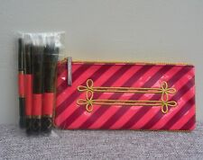 MAC Nutcracker Sweet Mineralize 4pc Brush Kit with carry pouch, Brand New!