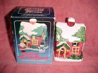HOLIDAY CANDLE HOUSE, CERAMIC