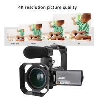 4K HD Videocamera Digitale Touch Screen 3Pollici WIFI 16x Zoom Intelligente