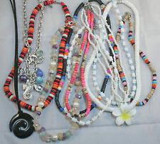 NECKLACES - 5 x assorted Ladies necklaces - 50 cents each