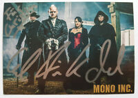 ⭐⭐⭐⭐ Mono Inc. ⭐⭐⭐⭐ Autogramm  ⭐⭐⭐⭐ Autogrammkarte ⭐⭐⭐⭐ 10 cm x 15 cm  ⭐⭐⭐⭐