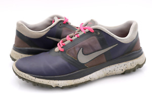 Nike Womens 8.5 Multicolor FI Impact Golf Lace Up Sneakers Shoes EUR 40
