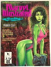 Marvel Illustrated The Swimsuit Issue Comic Superhero Magazine 1991