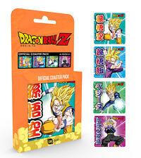 Dragon Ball Z Mix Coaster Pack Manga Anime Goku Vegeta Anime