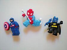 Jibbitz Croc Clog Shoe Charm Button Plug Bracelet Accessorie Disney Lego Batman