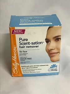 Sally Hansen Pure Scent~Sation Hair Remover, For Face Odor-Free, 5063-01