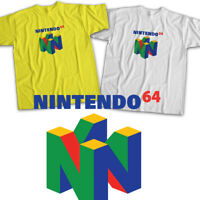 Nintendo 64 Symbol N64 Cool Retro Video Game Mens Womens Kids Unisex Tee T-Shirt