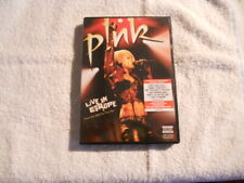 "Pink ""Live in Europe"" 2006 DVD Sony Music New $"