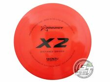 New Prodigy Discs 400G X2 162g Red Black Stamp Distance Driver Golf Disc