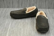 Ugg Ascot 1101110 Slippers, Men's Size 13, Charcoal NEW