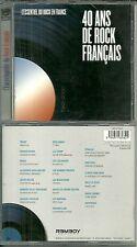 CD - ROCK FRANCAIS avec TRUST, LA SOURIS DEGLINGUEE, PARABELLUM, TAXI GIRL BIJOU