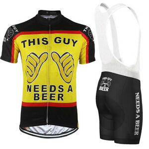 This Guy Needs a Beer Cycling Kit