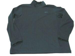 Under Armour Jacket Gray 1/4 Zip Long Sleeve Storm Elements Golf Pullover Men L