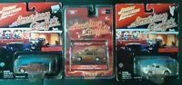 Johnny Lightning Lot 3-American Graffiti- Die Cast Cars,Vega, Mercury, 41 Willys