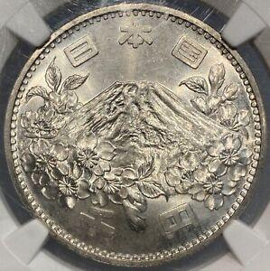 S39//1964 Japan 1000 Yen Tokyo Olympics NGC MS66
