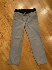 gymboree size 8 kid boys pull on pants gray