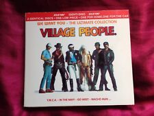 VILLAGE PEOPLE - WE WANT YOU - THE ULTIMATE COLLECTION - 2CD Identi-Disc