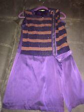 VERSACE JEANS VJ Purple Dress XS