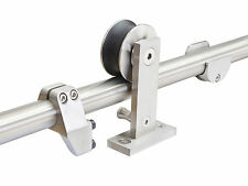 Top Mount Stainless Steel Barn Style Sliding Door Track Pocket Door Hardware