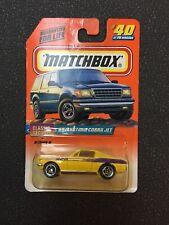 MATCHBOX 1998 #40 OF 75 '68 MUSTANG COBRA JET - CLASSIC DECADES