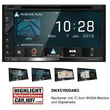 Kenwood DNX5190DABS 2-DIN DAB+ Autoradio mit Navigation und Apple CarPlay NEU