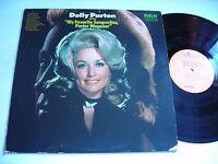 Dolly Parton sings Porter Wagoner 1972 Stereo LP VG++