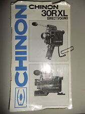 Instructions cine movie camera CHINON 30RXL DIRECT SOUND super 8  - CD/Email