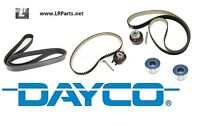 FULL TIMING BELTS IDLERS & FAN BELT FOR DISCOVERY TDV6 DAYCO LRC1149