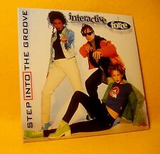 NEW Cardsleeve Single CD Interactive Force Step Into The Groove 2TR Isabelle A