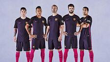 NIKE FC BARCELONA AUTHENTIC VAPOR MATCH AWAY JERSEY 2016/17 QATAR.