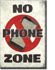 Handy freie Zone - USA No Phone -  Magnet Magnetschild