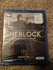 Sherlock: Complete Season 1 (Blu-ray Disc, 2010, 2-Disc Set)