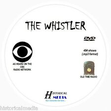 THE WHISTLER - 484 Shows Old Time Radio In MP3 Format OTR On 1 DVD