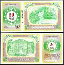 Italy - Commune of Ozzano : Scarce 1998 Regional / Local-only €0.50 Banknote.