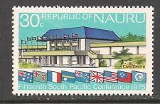 Nauru #128 (A2) VF MINT VLH - 1975 30c New Civic Center