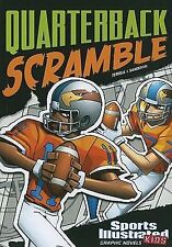 Quaterback Scramble (Sports Illustrated Kids Graphic Novels)-ExLibrary