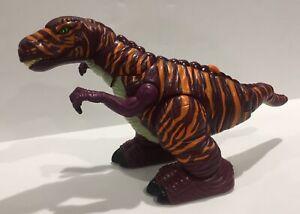 Mattel Imaginext 2006 Raider the Allosaurus Dinosaur Walking Roaring ~CLEANED~