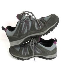 Northside Women's Suede Uppers Low Top Lace Up Walking Shoes Grey Size 9