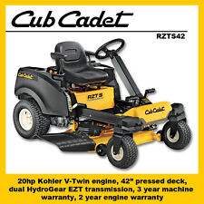 Cub Cadet RZTS42 Steering Wheel Zero Turn Mower - Save $800
