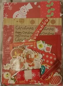 """5x7 inch - 5"""" x 7"""" - Christmas Card Making Kits - Various Designs & Colours"""
