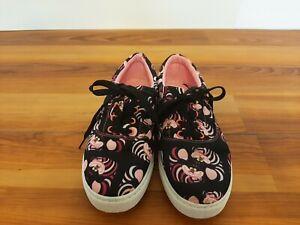 Women's Disney's Alice In Wonderland Cheshire Cat Tennis Shoes Sneakers Size 7