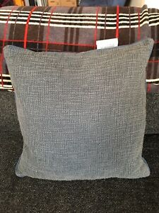 NEW DKNY Pure Textured Throw Pillow Cover in Navy