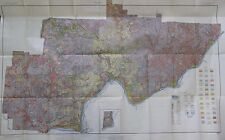 Folded Color Soil Survey Map Washington County Ohio Marietta Belpre Beverly 1930