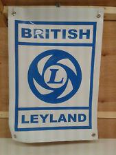 BRITISH LEYLAND BANNER - mancave/garage/shed ideal free p&P
