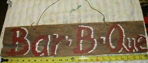 "🍺REDNECK ""Bar-B-Que""  DOOR WALL ART DECORATION SIGN COUNTRY COOKOUT 🍺"