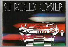 ROLEX Su Rolex Oyster ESPAÑOL Booklet Libretto Broschüre VINTAGE ref. 579.24 Sp