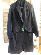 Saddleseat Navy Coat