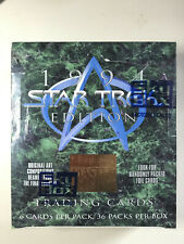 Unopened SkyBox Master Series 1994 Star Trek - 36 Packs